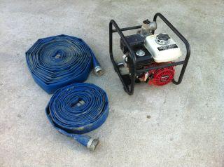 Trash Pump Irrigation Pumpt Red Lion 4 HP Engine Driven Water Pump