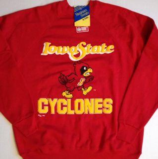 Vintage Iowa State Cyclones ISU Sweatshirt 90s Large