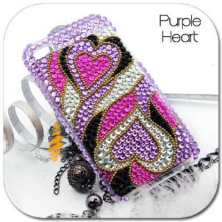 BLING Hard Cover Skin CASE iPod Touch iTouch 4G 4th Generation 4 G Gen
