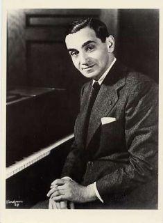 Postcard Irving Berlin God Bless America Songwriter Composer Musician
