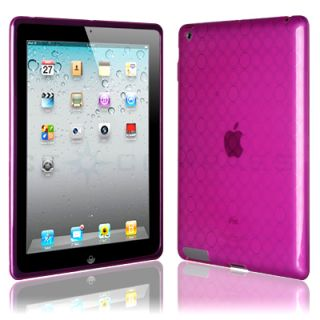 Pink TPU Skin Case Cover for Apple iPad 2 WiFi 3G