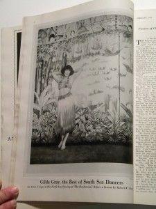 Vanity Fair Magazine 1922 Art Deco Paderewski Maxfield Parrish Gilda