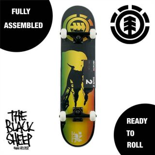 Thriftwood Irie Complete Skateboard Setup Element Skateboards 2 7 5