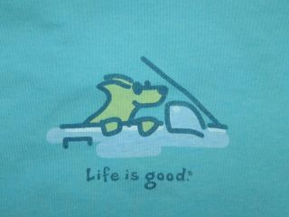 Life Is Good Cruisin Rocket Dog Car Window Women New