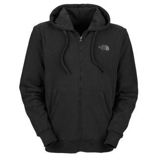 Full Zip Hoodie TNF Black Abaa Mens Hooded Sweatshirt Pocket