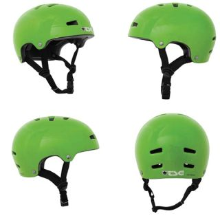 TSG Nipper Maxi Graphic Design Green Childs BMX Bike Skate Helmet XXS