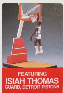 1990 Starting Lineup Isiah Thomas Slam Dunk Figure