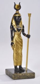 Ancient Egyptian Deity Isis RA 6 Tall Statue Figurine