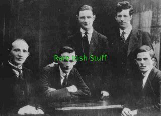 Michael Collins IRA Hitmen Squad During The Irish War Republican Army