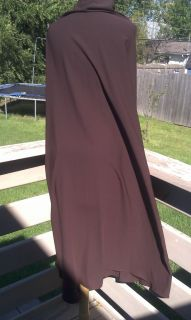 Brown Khimar Abaya Jilbab Niqab Somali Saudi Hijab Long Muslim Dress