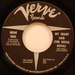 Irene Reid My Heart Said The Bossa Nova 45 vg++/nm 66 Mod Latin Soul