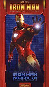 Moebius Models Iron Man Mark VI Plastic Model 1 8 Scale