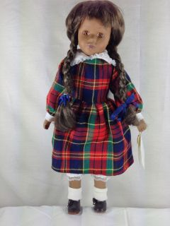 Porcelain Irma Gheduzzi Collection Doll 16 Collectable Franquetta