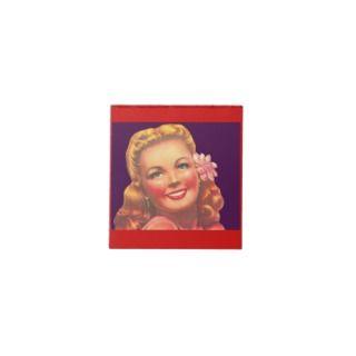 Rero Beach Blonde Golden Girl Scrach Pad