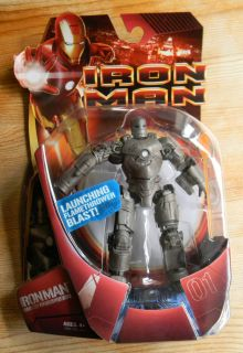 Iron Man Movie Action Figure Mark 1 Armor