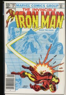 Iron Man 1st Series 166 Marvel Comics