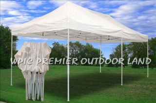 Pop Up EZ Party Tent Canopy 3 Sizes Available 10x10 10x15 or 10x20