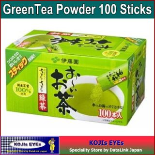 Japanese Green Tea Powder Stick Type Ito En Brand Cha 100 Product of