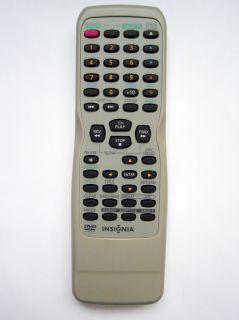 Insignia TV DVD Combo Original Remote Control Is TV040921 ISTV040921