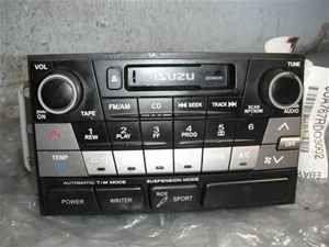 02 03 Isuzu Axiom Cassette Radio Climate Control