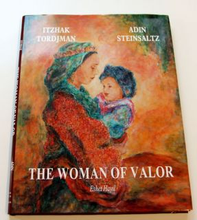 Itzhak Tordjman Woman of Valor Book Mothers Day Sale