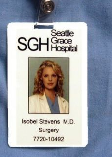 Greys Anatomy ID Card Isobel Stevens SGH Customize It