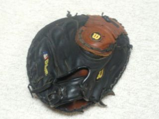 Wilson PRO500 Ivan Rodriguez 32 Catchers Mitt Used