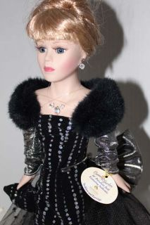 Ivana Trump Doll BK Collectibles Porcelain Figurine