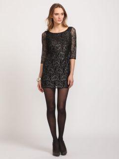 Short Sleeve Black Lace Dress Zara Madewell Similar Style
