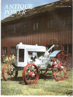 Silver King Plymouth Tractor Antique Power 1991