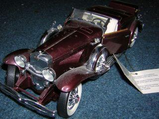 Diecast 1935 Duesenberg J 550 Franklin Mint