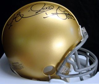 Raghib Rocket Ismail Autographed Signed Notre Dame Mini Helmet Tristar