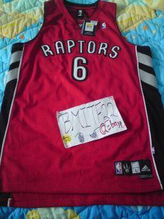 Jermaine ONeal Adidas Toronto Raptors Away Swingman Jersey L