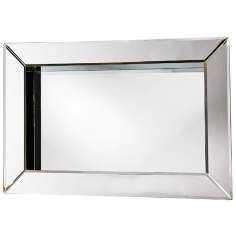 picture frame rectangular 24 wide wall mirror