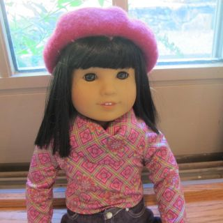 American Girl Ivy Ling 18 Doll Julies Best Friend