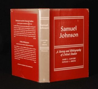 1970 Samuel Johnson Critical Studies Clifford Greene DJ