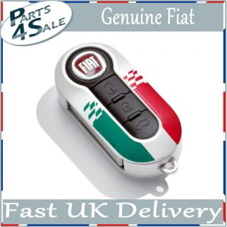 Fiat Genuine Official Grande Punto Key Covers Italy