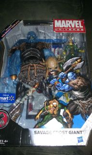 Marvel Universe Savage Frost Giant and Loki Wal Mart Exclusive