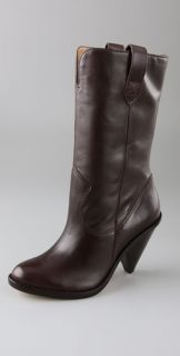KORS Michael Kors Neely Boots on Cutout Wedge
