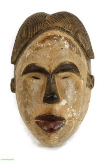 Ogoni Yam Festival Mask Delta Region Nigerian African