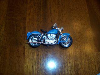 Motorcycle Ornament Harley Davidson 1952 K Model