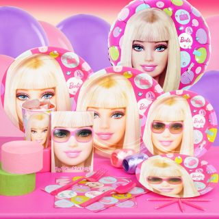 Barbie All Dolled Up Glamour Birthday Party Supplies