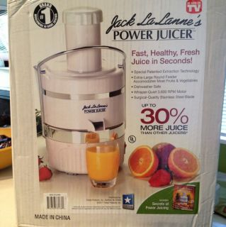 Jack Lalanne Power Juicer New in Box