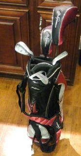 Jack Nicklaus Q4 Junior Golf Club Set w Stand Bag Rain Cover