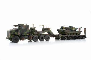 Sword Models OshKosh Het M1070 A1 w M1000 M1 Abrams Tank Camo