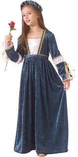 Juliet Romeo Girl Child Costume Party Dress Up Supplies