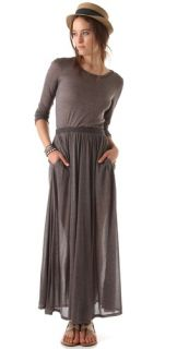 Heather Long Sleeve Maxi Tee Dress