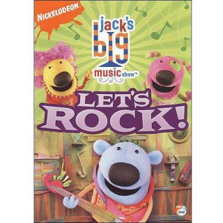 Jacks Big Music Show Lets Rock DVD 2007 Nickelodeon Brand New SEALED