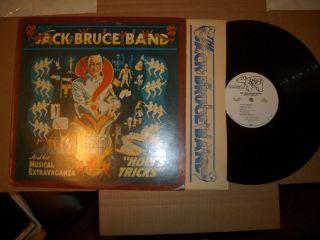 Jack Bruce Band Hows Tricks LP Very RARE White Label Promo Vinyl