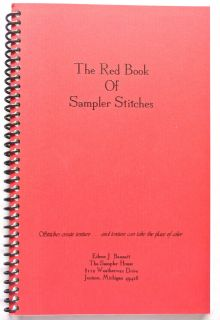 Eileen J Bennett The Sampler House The Red Book of Sampler Stitches